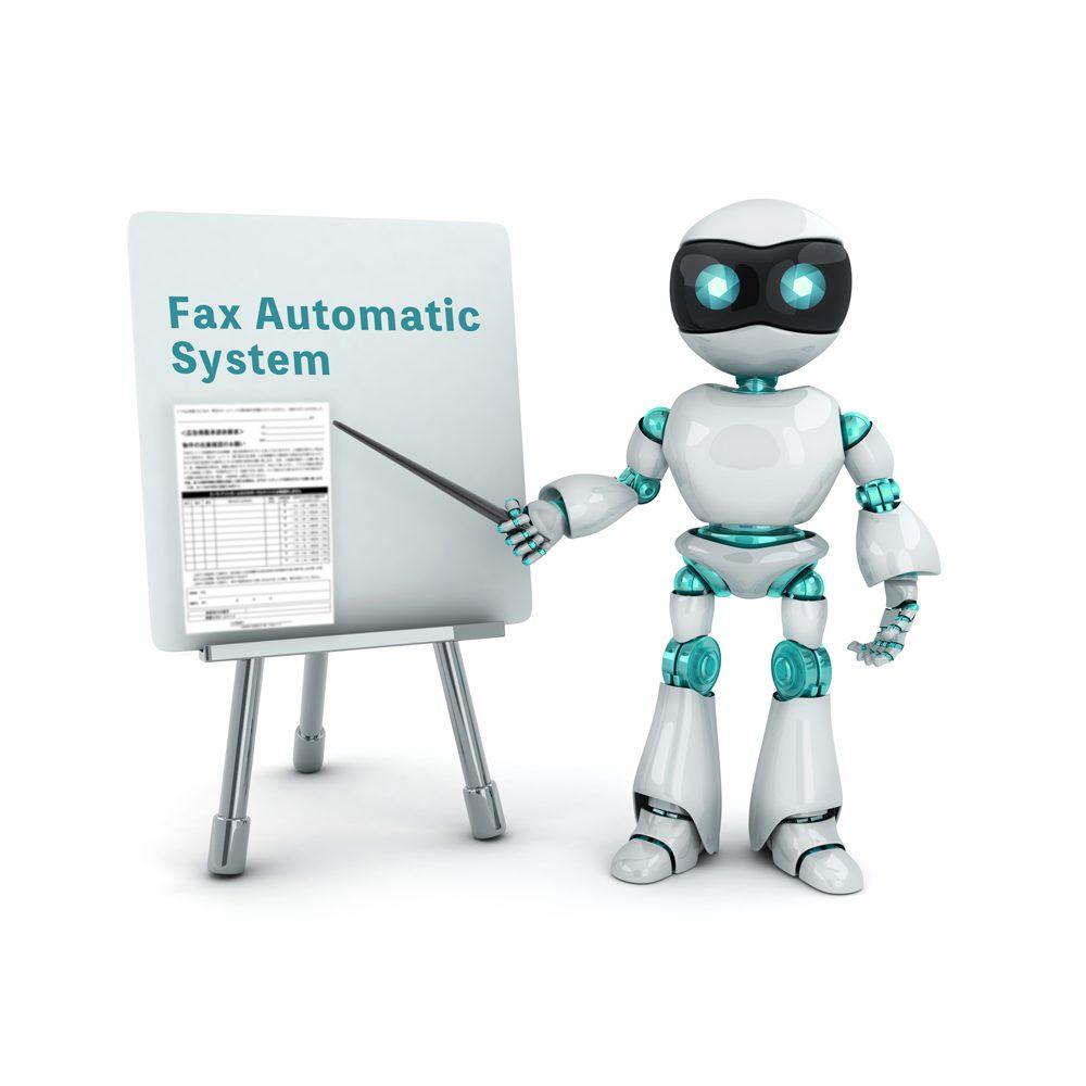 不動産物件在庫確認FAX自動一斉送信システム機能一覧画像